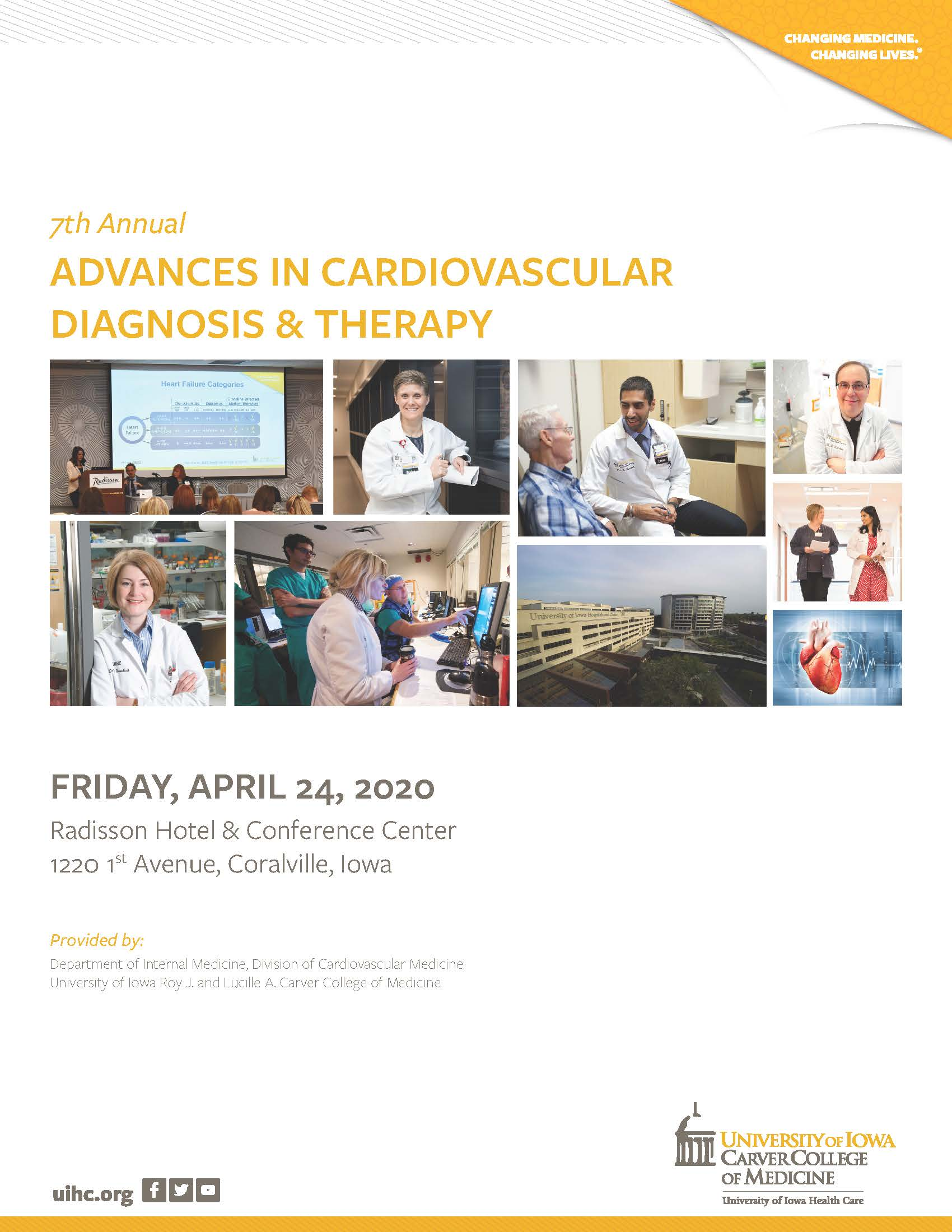 Advances in Cardiovascular Diagnosis and Therapy 2020 Banner