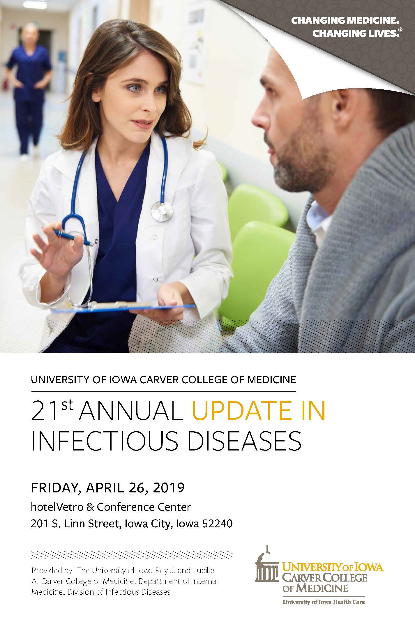 21st Annual Update in Infectious Diseases Banner