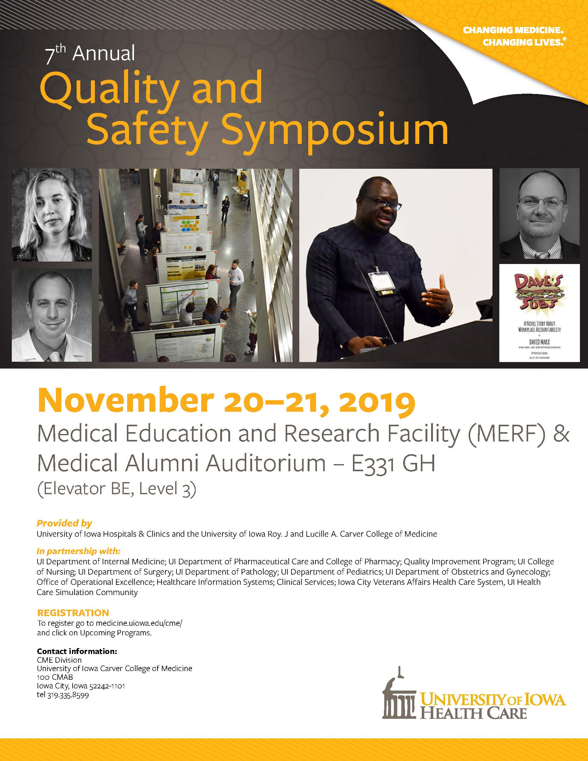 7th Annual Quality and Safety Symposium Banner