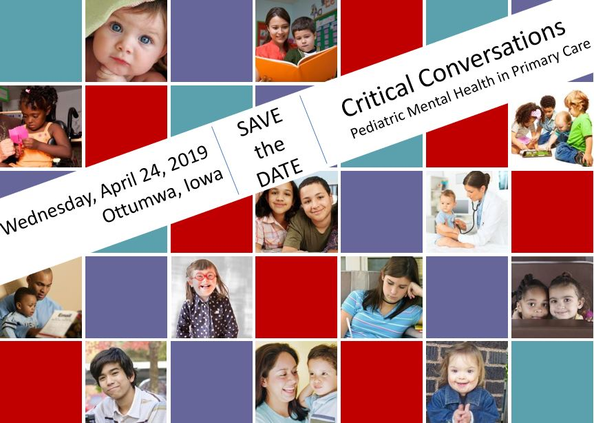 Critical Conversations:  Pediatric Mental Health in Primary Care Banner