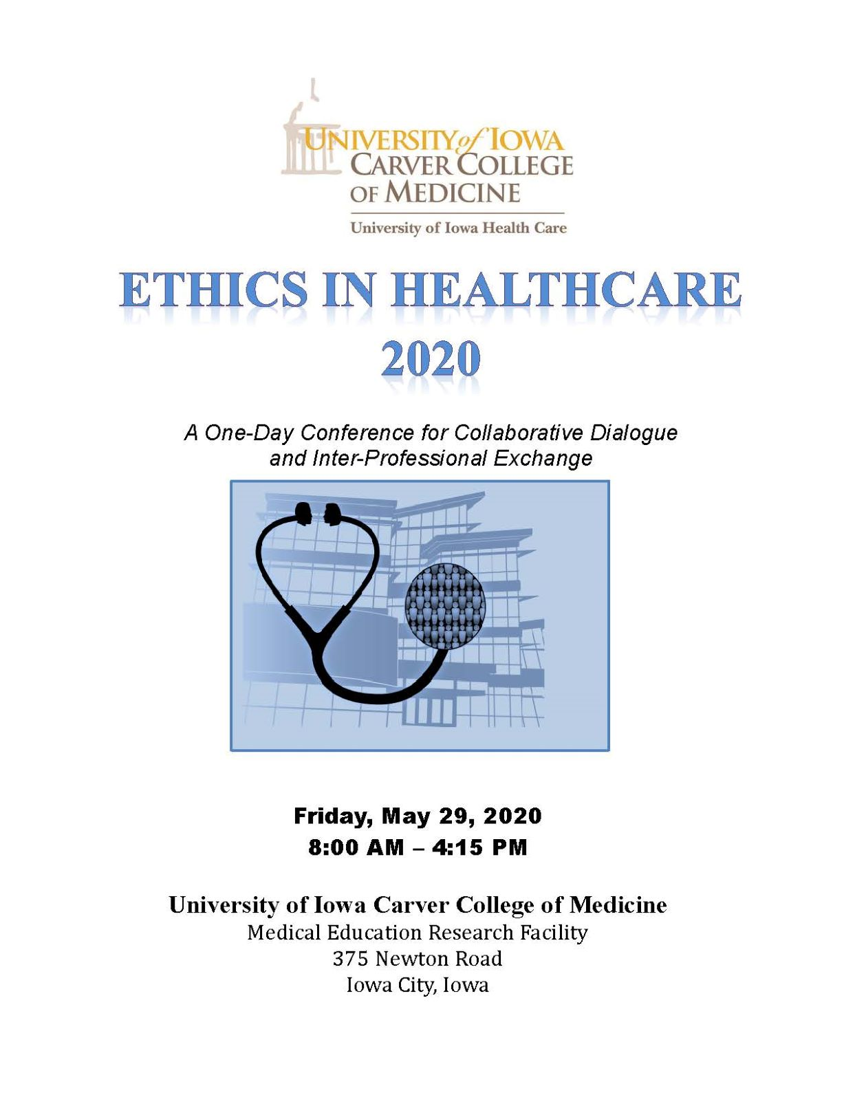 Ethics in Healthcare 2020 Banner