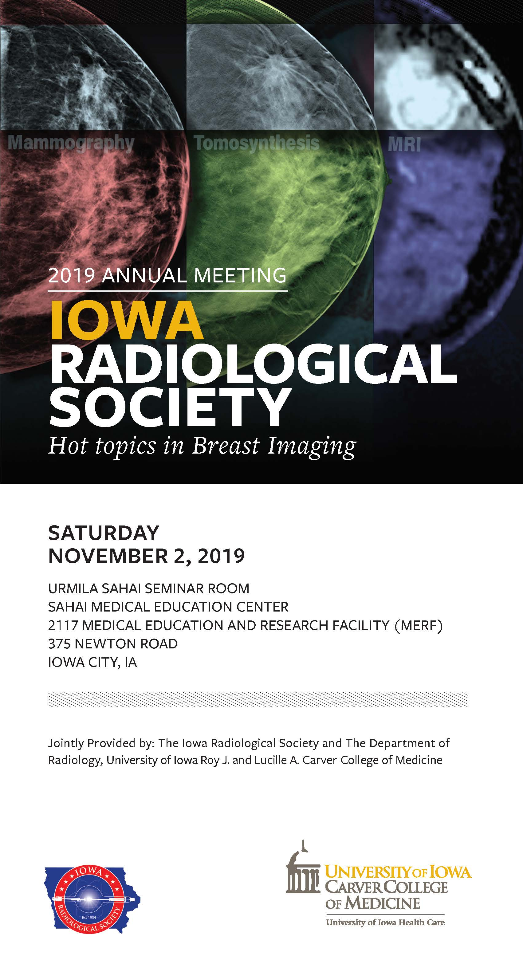 Iowa Radiological Society Annual Meeting 2019 Banner