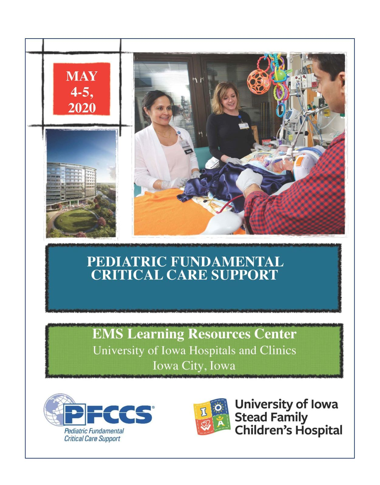 Pediatric Fundamental Critical Care Support (PFCCS) Banner
