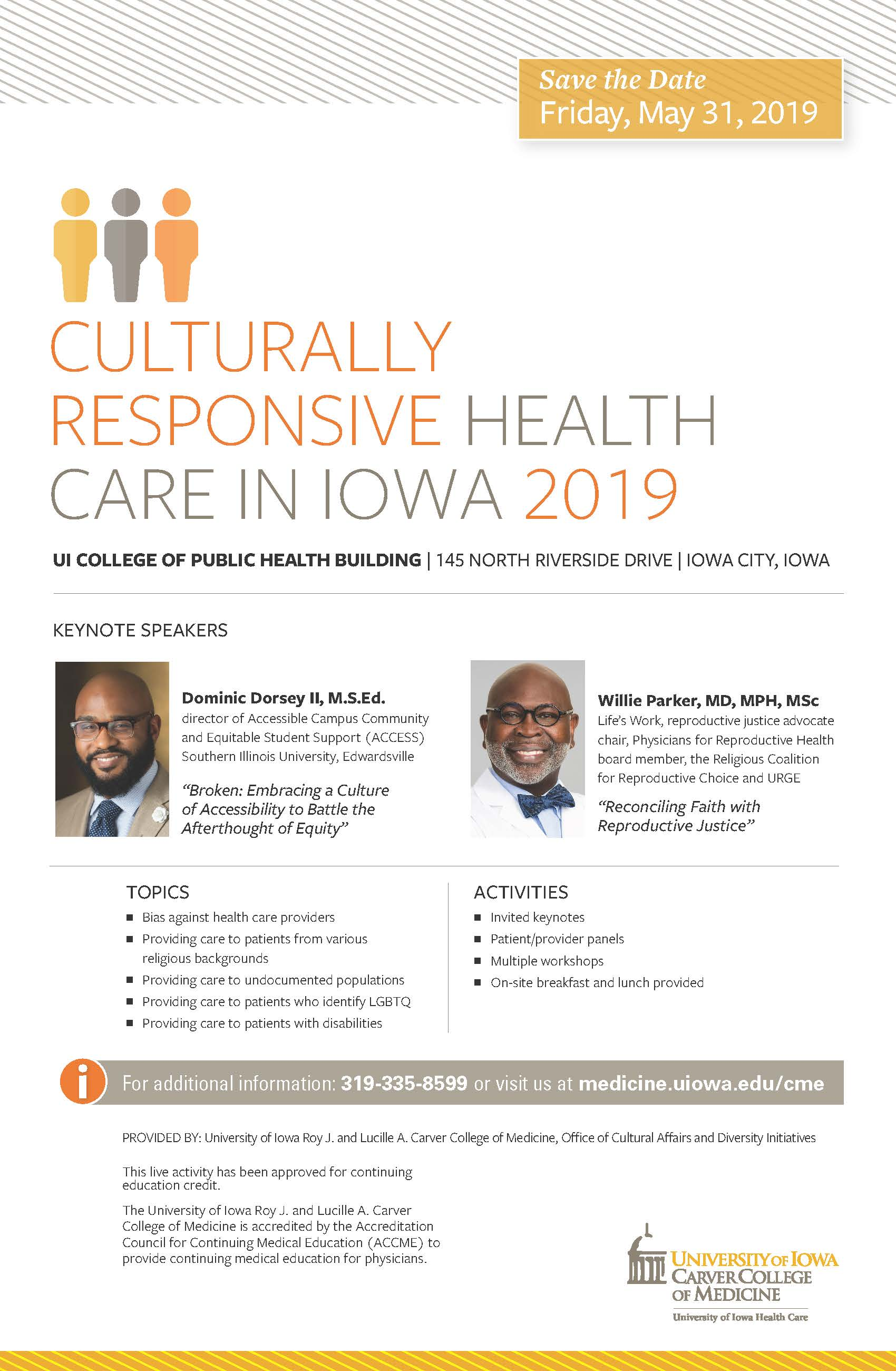 Culturally Responsive Health Care in Iowa 2019 Banner