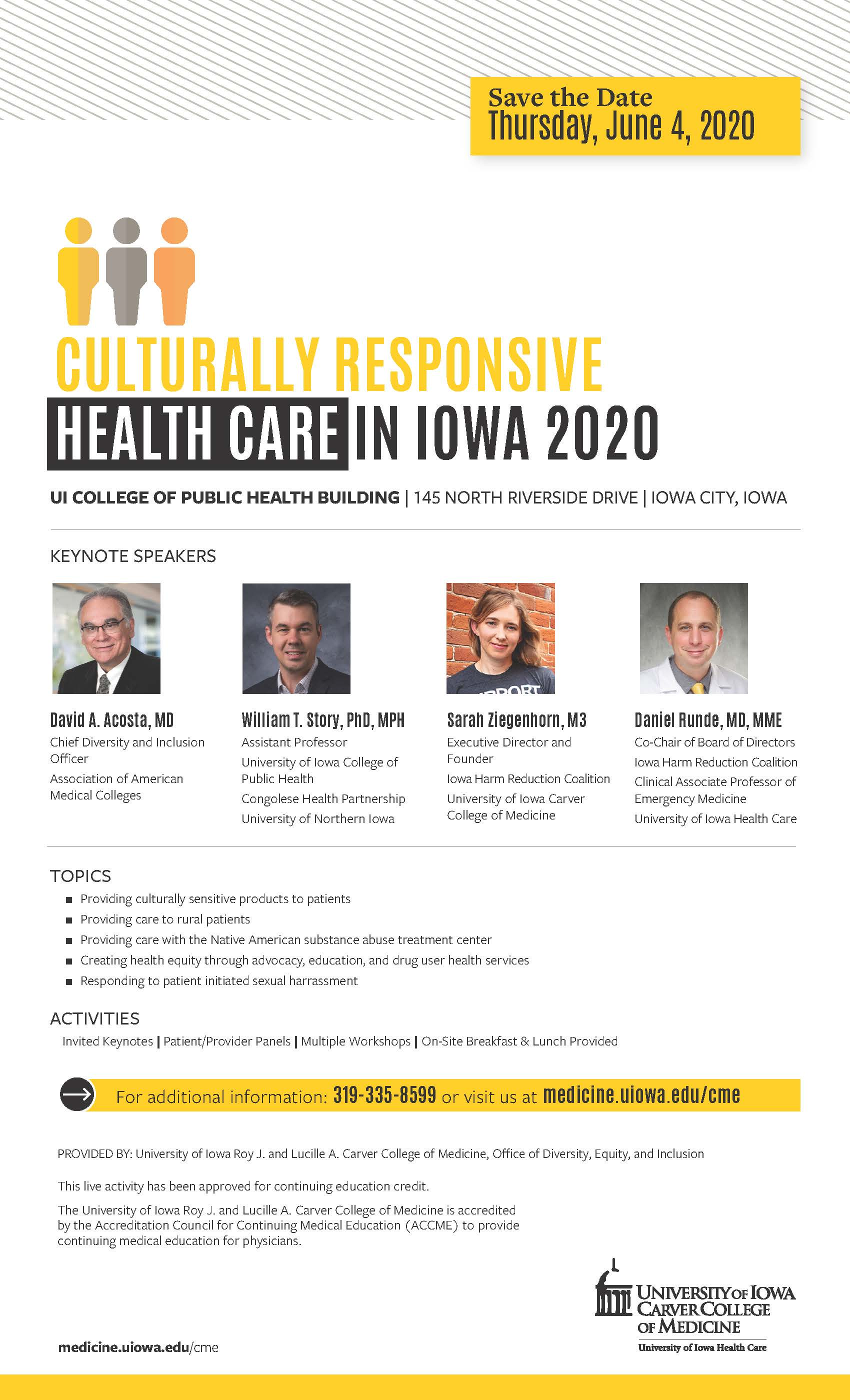 Culturally Responsive Health Care in Iowa 2020 Banner